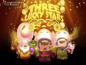three lucky star spade gaming